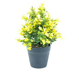 Artificial Plant- Yellow Style 19 15cm