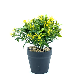 Artificial Plant- Yellow Style 20 15cm