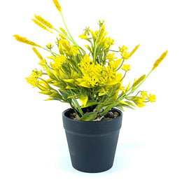 Artificial Plant- Yellow Style 21 15cm