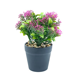 Artificial Plant- Pink Style 25 15cm