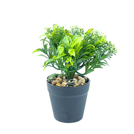Artificial Plant- Green Style 1 15cm