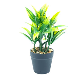 Artificial Plant- Yellow Style 18 15cm
