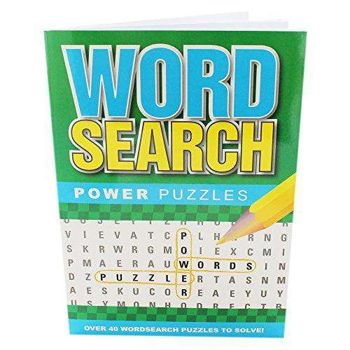 Word Search Power Puzzles Green