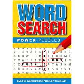 Word Search Power Puzzles (4 Pack Set)