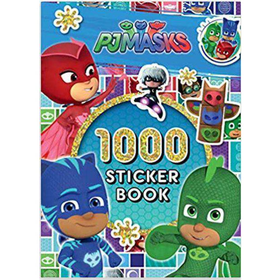 PJ Masks-1000 sticker book