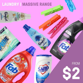 LAUNDRY NEEDS | BIG BRAND PRODUCTS