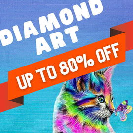 DIAMOND ART | UP TO 80% OFF SALE