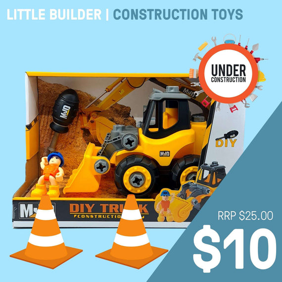 LITTLE BUILDER | CONSTRUCTION TOYS