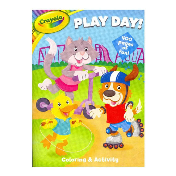Crayola Play Day Coloring & Activity Book