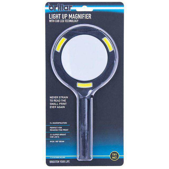 Brillar LED Lighted Magnifying Glass