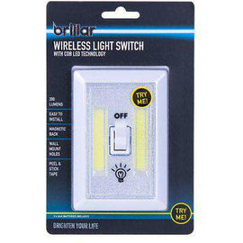 Wireless Light Switch With Cob Led Techn