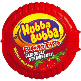 Hubba Bubba Gum Tape Strawberry 56g
