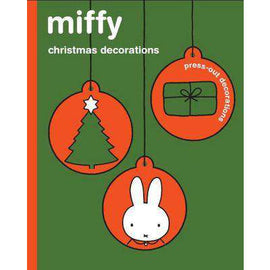 Miffy Christmas Press-Out Decorations