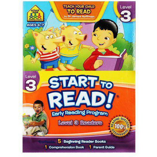 Start to Read! Early Reading Program -Level 3 Readers