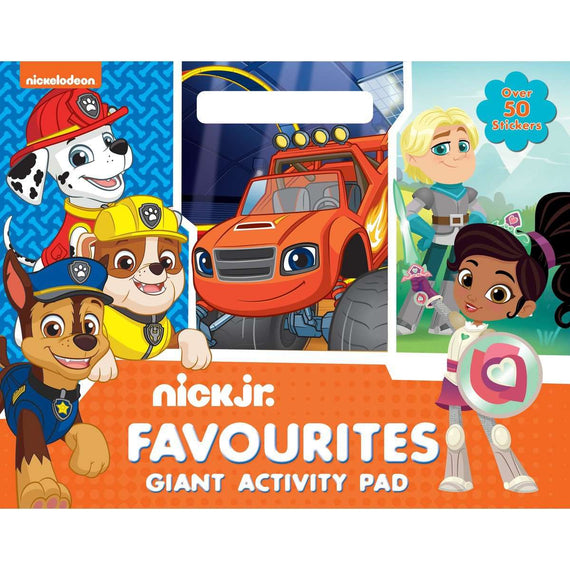 Activity Pads Nick Jr- Not Available