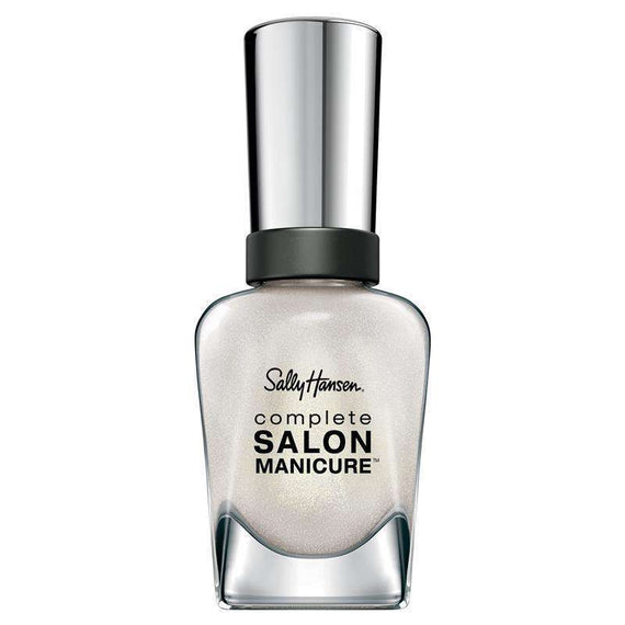 Sally Hansen 14.7Ml Complete Salon Manicure Nail Polish 760 Party All White  (Non- Carded)