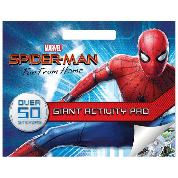 Activity Pad Spiderman