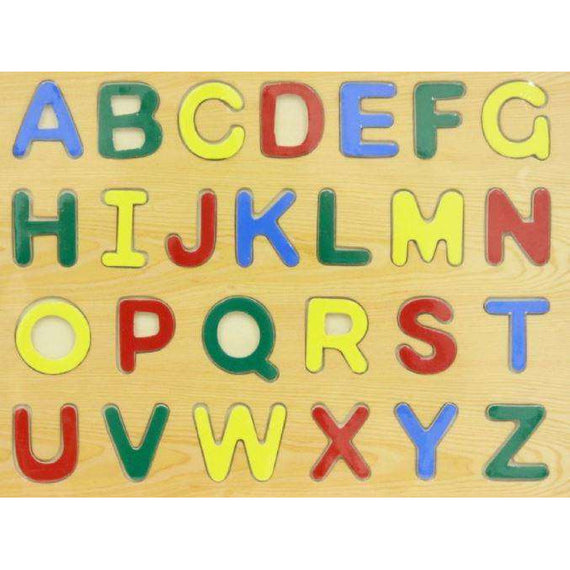 Kids wood Puzzle- Colorful Alphabets