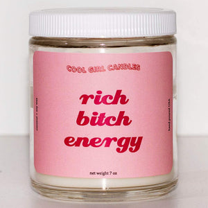 Rich Bitch Energy Candle