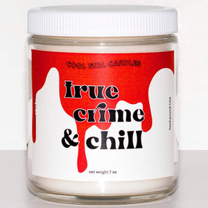 True Crime & Chill Candle