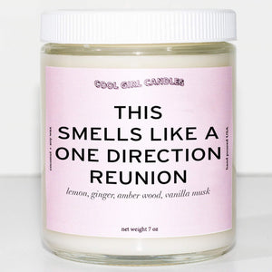 This Smells Like A One Direction Reunion Candle