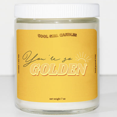you're so golden candle cute this smells like harry styles candle tom ford tobacco vanille candle
