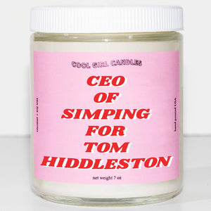 this smells like tom hiddleston candle ceo of simping for tom hiddleston candle