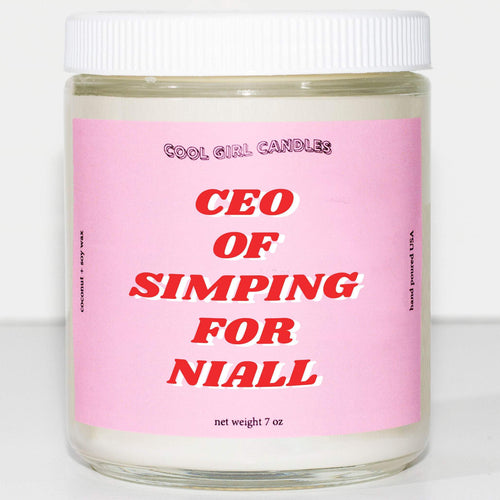 this smells like naill horan candle ceo of simping for naill horan candle