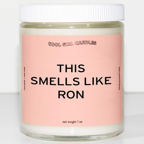 this smells like Ron Weasley candle cute harry potter candles that smell like harry potter cute aesthetic candle coconut soy wax