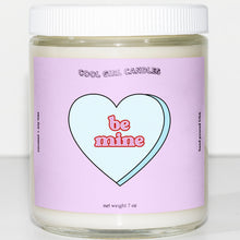 Load image into Gallery viewer, be mine candy heart candle cute valentines candle