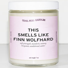 Load image into Gallery viewer, this smells like finn wolfhard candle by cool girl candles