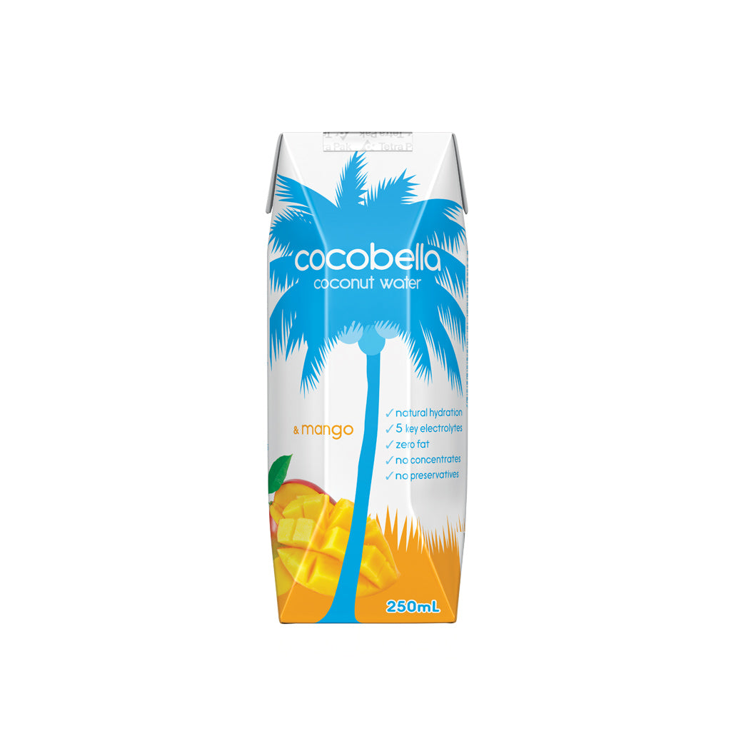 Cocobella Coconut Water - Mango 12x250mL