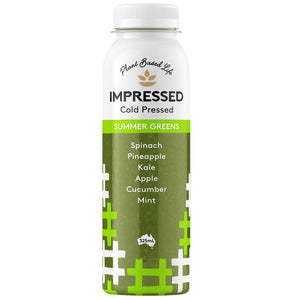 Impressed Pressed Juice - Summer Greens 6x325mL