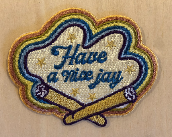 Have A Nice Jay Iron-on Patch - Mamie Ruth