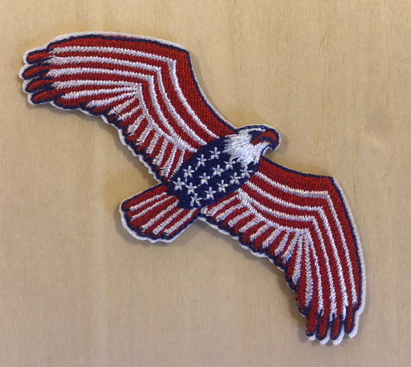 Eagle Iron-on Patch - Mamie Ruth