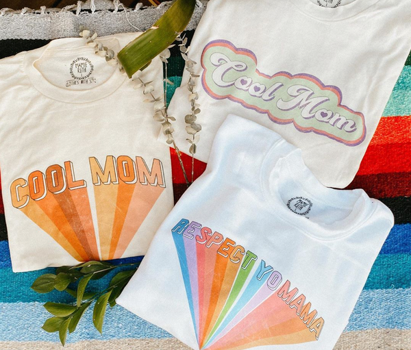 Cool Mom Tee - Mamie Ruth