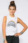 Drop Bass Not Bombs Tank - Mamie Ruth