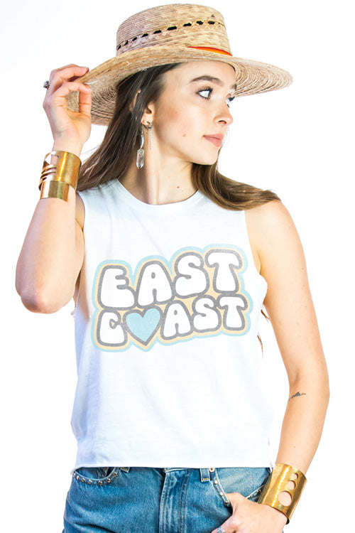 East Coast Vintage Distressed Graphic Tank