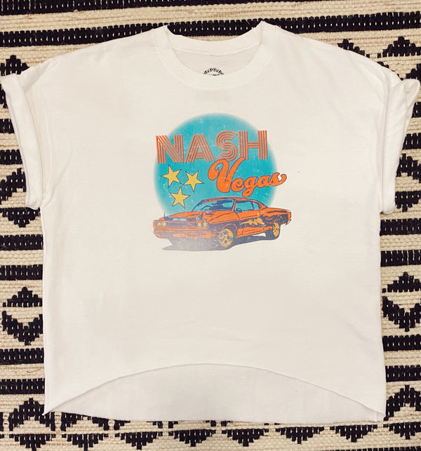 Nashvegas Sweat-Tee - Mamie Ruth