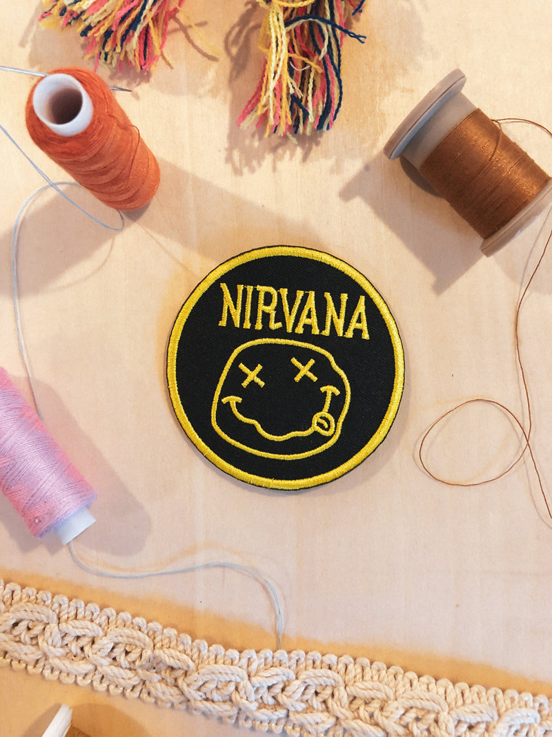 Nirvana Iron-on Patch - Mamie Ruth