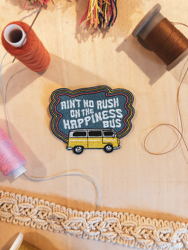 Hippie Bus Iron-on Patch - Mamie Ruth