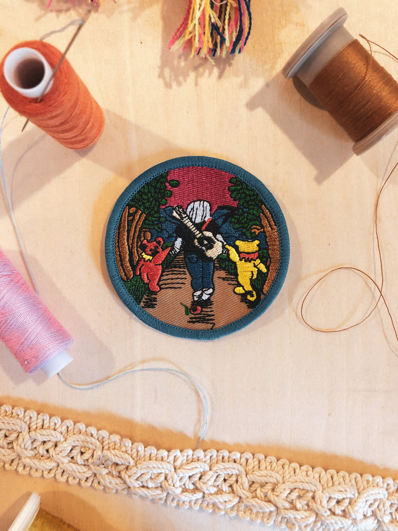 Grateful Dead Small Iron-on Patch - Mamie Ruth