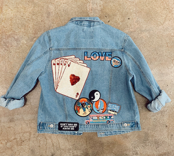 Heart on our Sleeve Ruthless Jacket