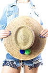 Farm Life Straw Hat - Mamie Ruth