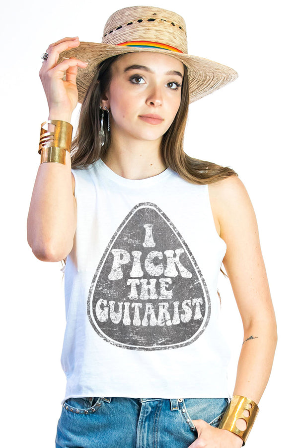 I pick the Guitarist
