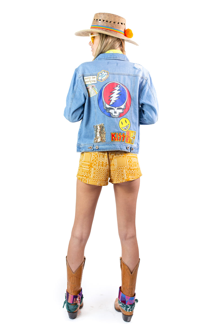 Manchester Denim Jacket - Mamie Ruth