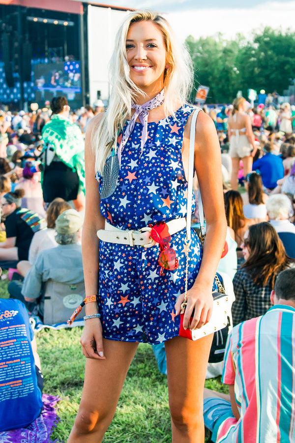 Star Spangled Jumpsuit
