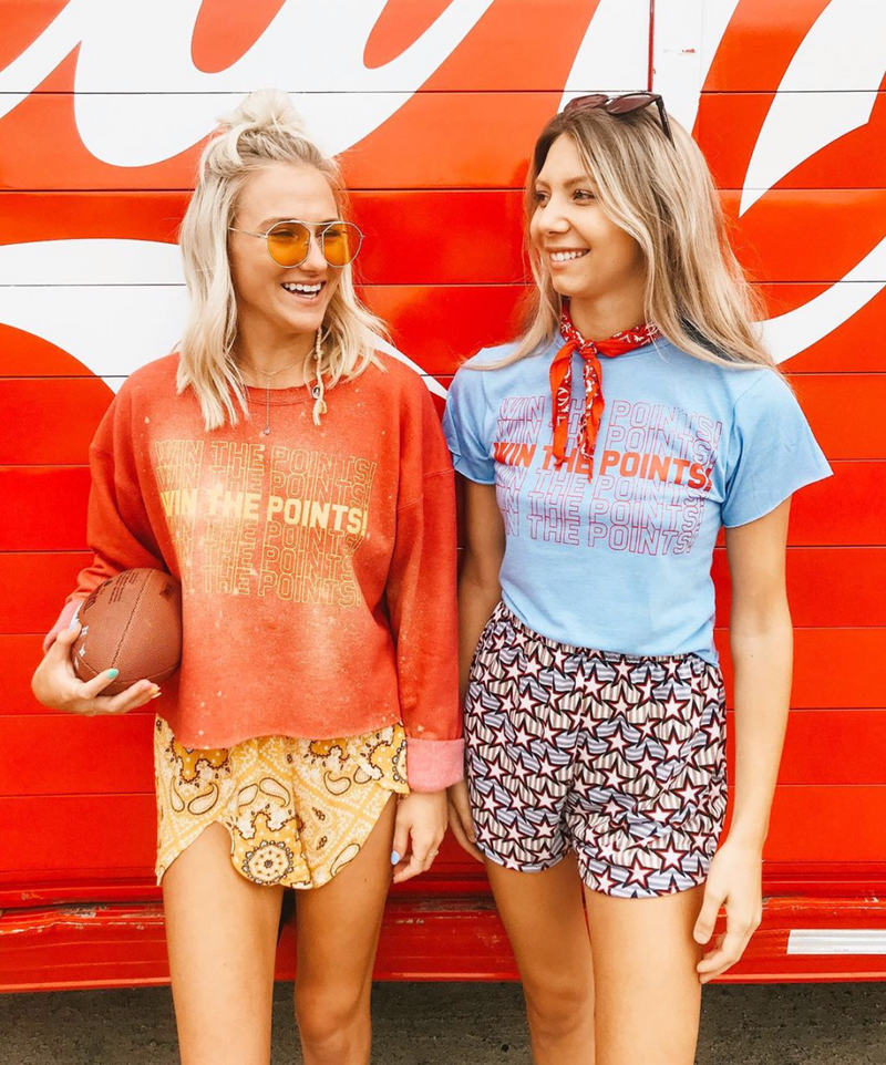 Win the Points Sweatshirt - Mamie Ruth