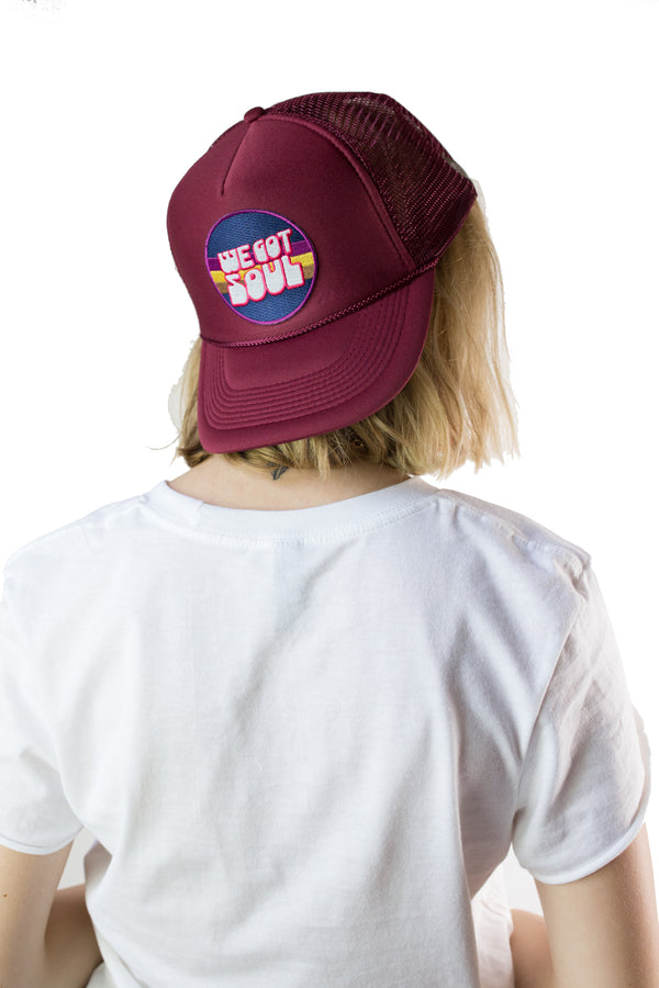 We Got Soul Trucker Hat - Mamie Ruth