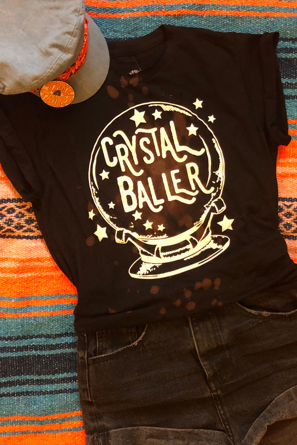 Crystal Baller Black